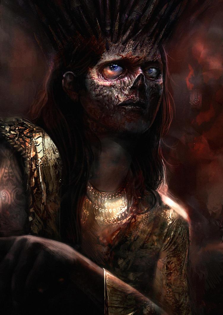 Zombie Queen by muratgul