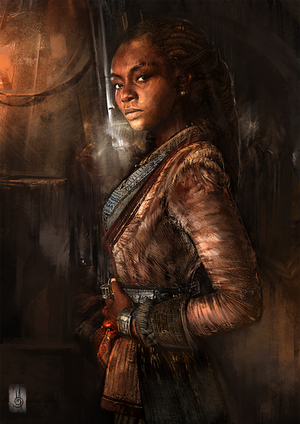 Madi from Black Sails by muratgul