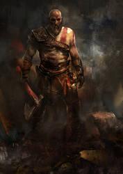 Kratos by muratgul
