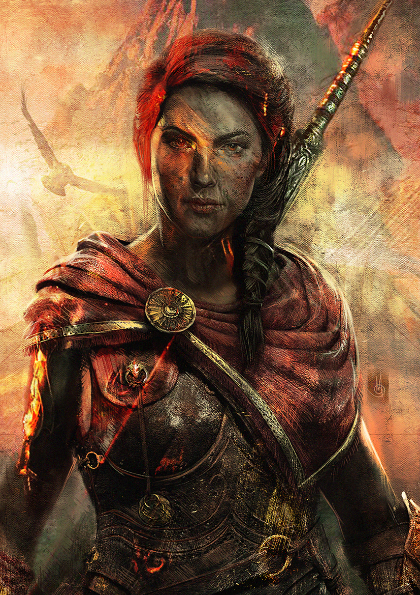 Kassandra Assassin S Creed Odyssey By Muratgul On Deviantart