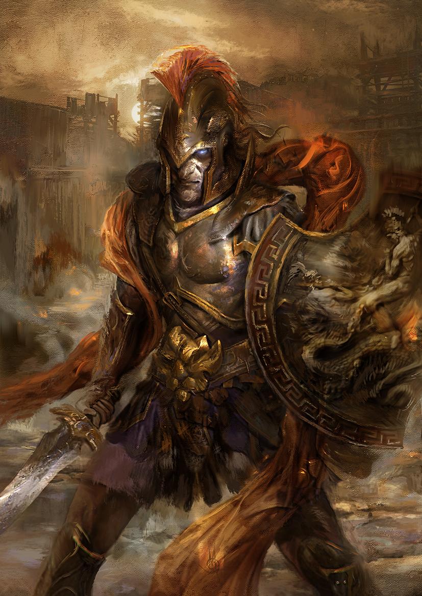 Ancient War Hero - the Artist Avatar Challenge