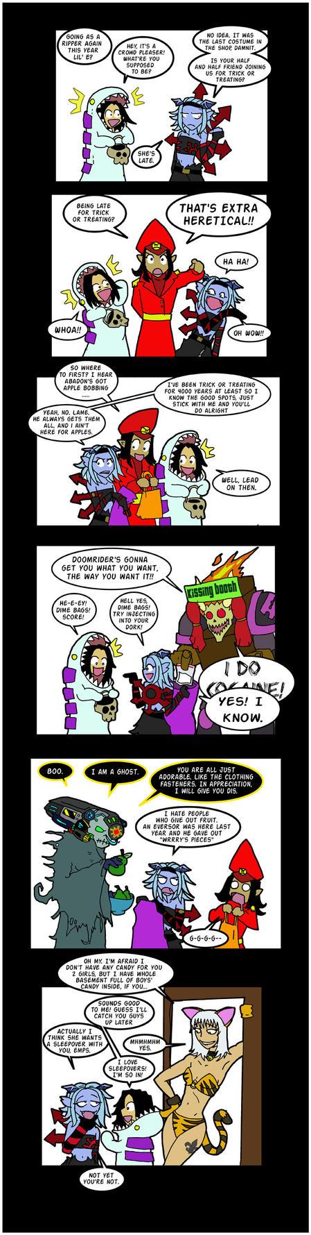 Heresy or Treat by Mr-Culexus