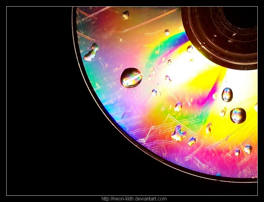 Rainbow CD by neon-lilith