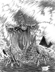Nyarlathotep by willisrharrower