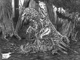Shub-Niggurath II by willisrharrower