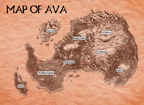 map of Ava