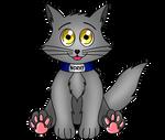 Norvy, il gatto immaginario di Luca e Chiara