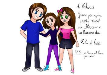 Commission for Valeria by KiriaEternaLove