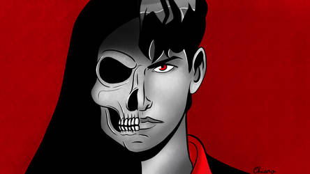 Dylan Dog and the Grim Reaper by KiriaEternaLove