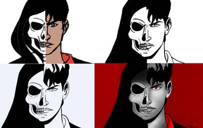 Dylan Dog and the Grim Reaper- Work in progress by KiriaEternaLove