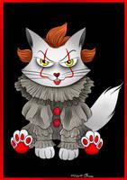 IT - Pennywise Cat Version (Norvywise) by KiriaEternaLove