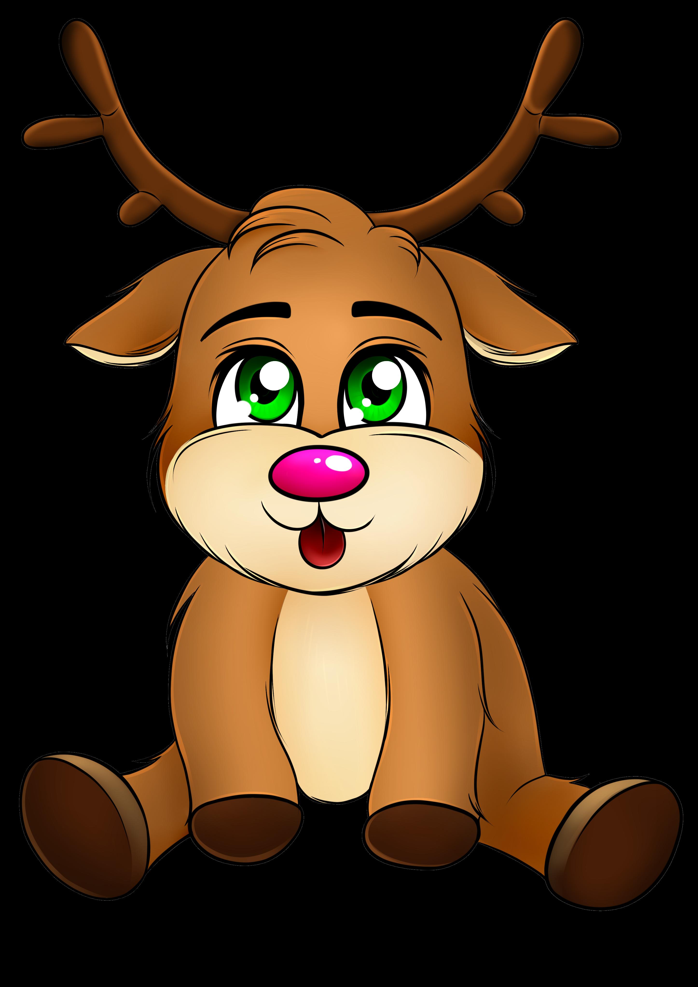Baby Reindeer (Gianrenna) by KiriaEternaLove