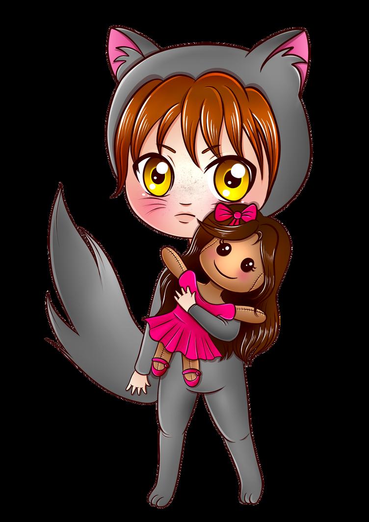 Cute Chibi Cat Boy (Norvy by Kiria EternaLove) by KiriaEternaLove