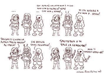 Battutacce a tema Undertale per Lushia by KiriaEternaLove