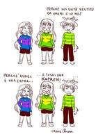 Cosplaying di Undertale con le sorelle by KiriaEternaLove