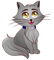 Norvy cucciolo (Spreadshirt design) by KiriaEternaLove
