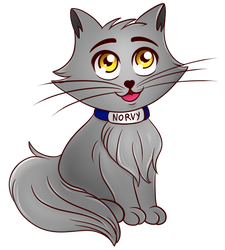Norvy cucciolo (Spreadshirt design) by KiriaEternaLove