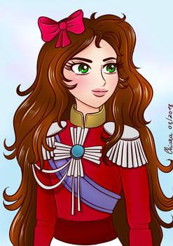 KiriOscar - Kiria dressed like Lady Oscar