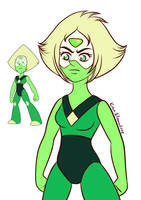 Peridot with my style by KiriaEternaLove