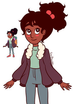 Connie with my style