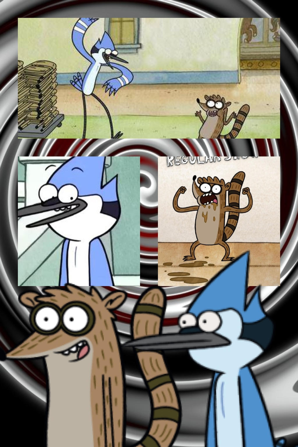 Mordecai and rigby wallpaper by mightymack1000 on DeviantArt