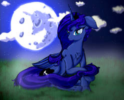 Lunas Night - Luna Day Picture