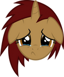 Pony Emote - Lucy Sad by Charrez