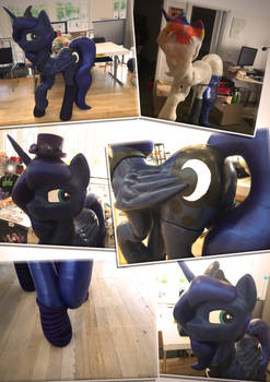 Lifesize Luna - Fully 3D Printed and Hand Painted