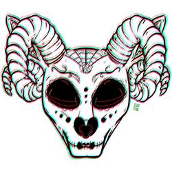 Dia de los muertos - 3D Deer