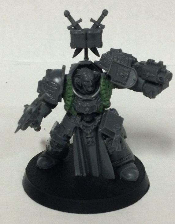 [WIP] Grey Knights Librarian by GlassRabbit