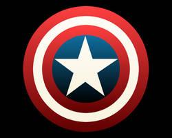 Cap's Shield wallpaper by damndirtyape