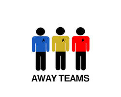 Away Teams by damndirtyape