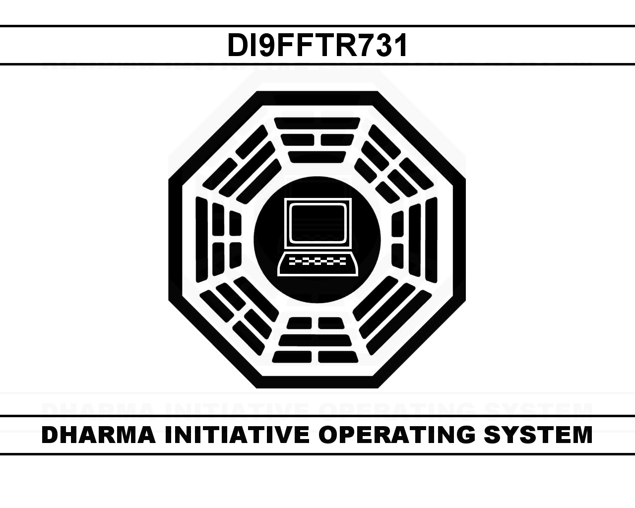Dharma Initiative OS by damndirtyape