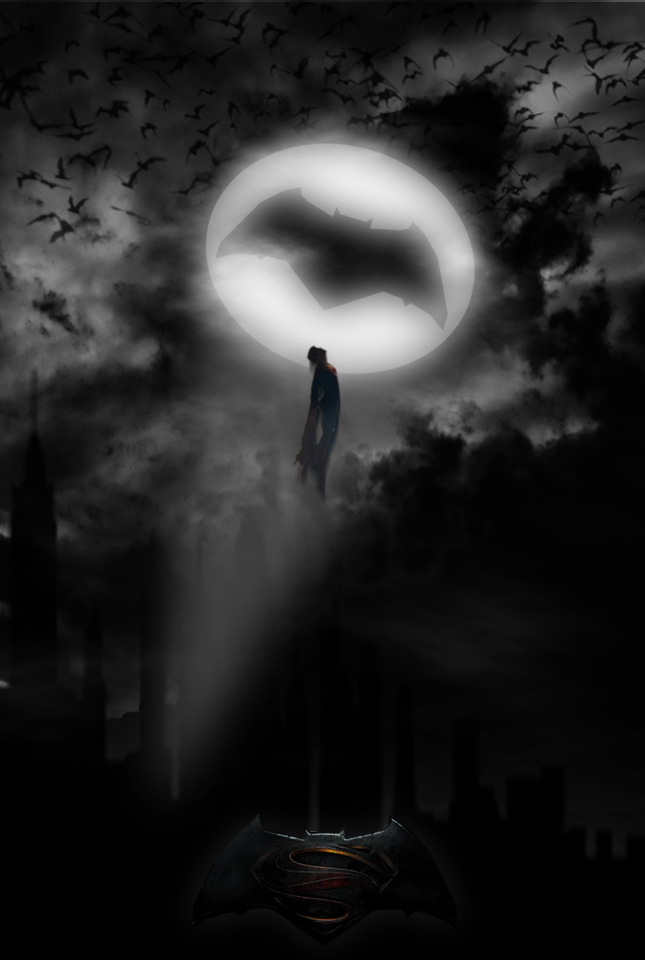 Batman V Superman Dawn of Justice poster by GingerJMEZ