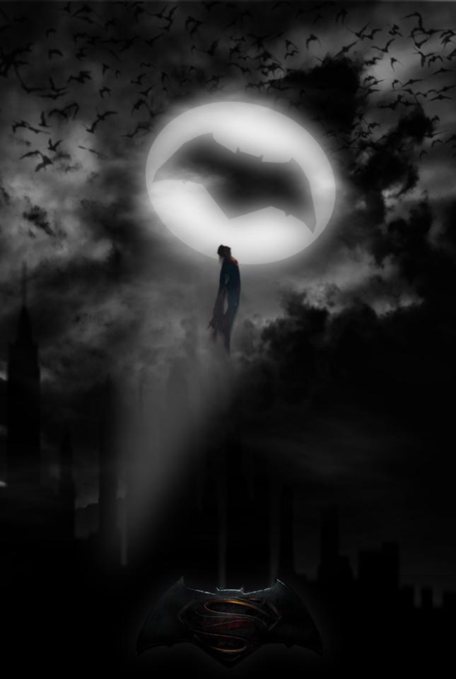 Batman V Superman Dawn of Justice poster by GingerJMEZ