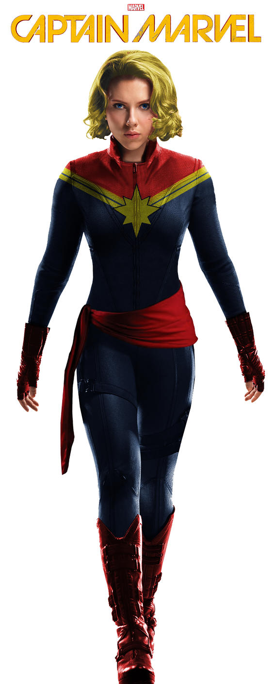 captain marvel black