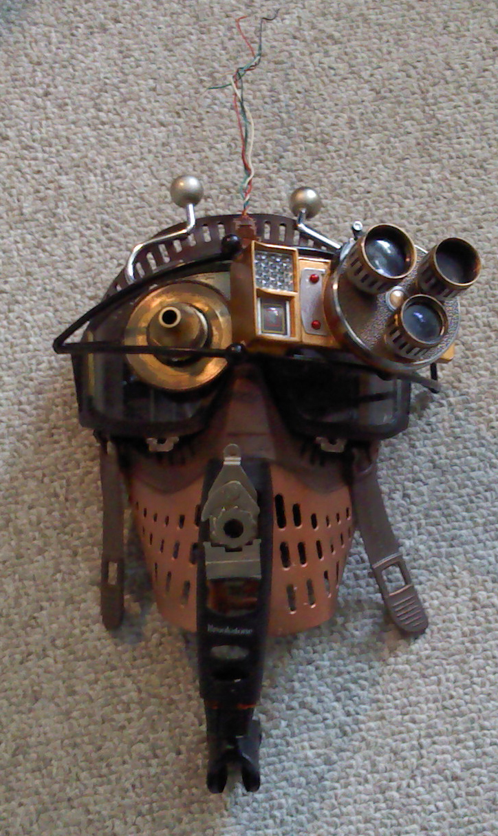 Steampunk mask project by pinochioO-5