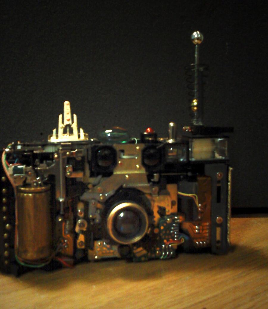 Steampunk camera project by pinochioO-5