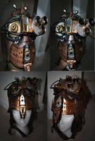 Steampunk Seeker Mask Cosplay by pinochioO-5
