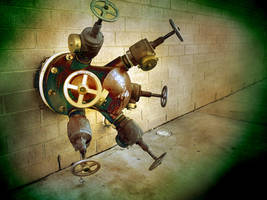 Steampunk interface by pinochioO-5