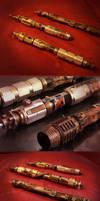 Steampunk Light Saber Group