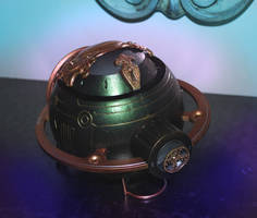 Steampunk Phantom Extractor by pinochioO-5
