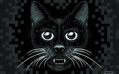 Scary Lamecat by at0m74