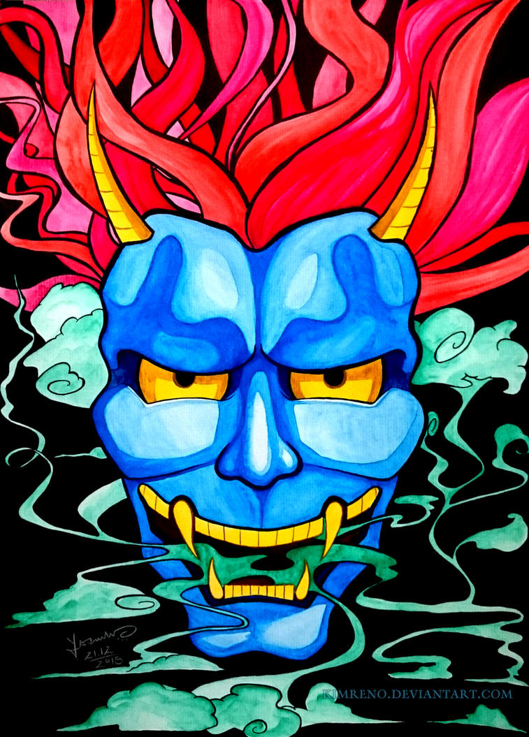 Hannya Mask by KimReno