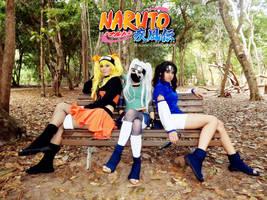 Sexy no Jutsu Cosplay - Naruto, Sasuke and Kakashi by AlbertoGerson