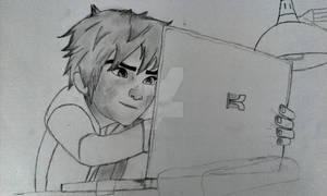 BIG HERO 6 - Hiro sketch