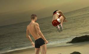 Beach Suprise 4 by NekoLLX