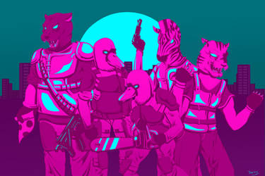 Hotline Miami - The Fans by Xinima