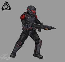 HoF: Nod Militant by ErastusMercy