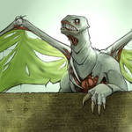 Resurrected dragon by vlate
